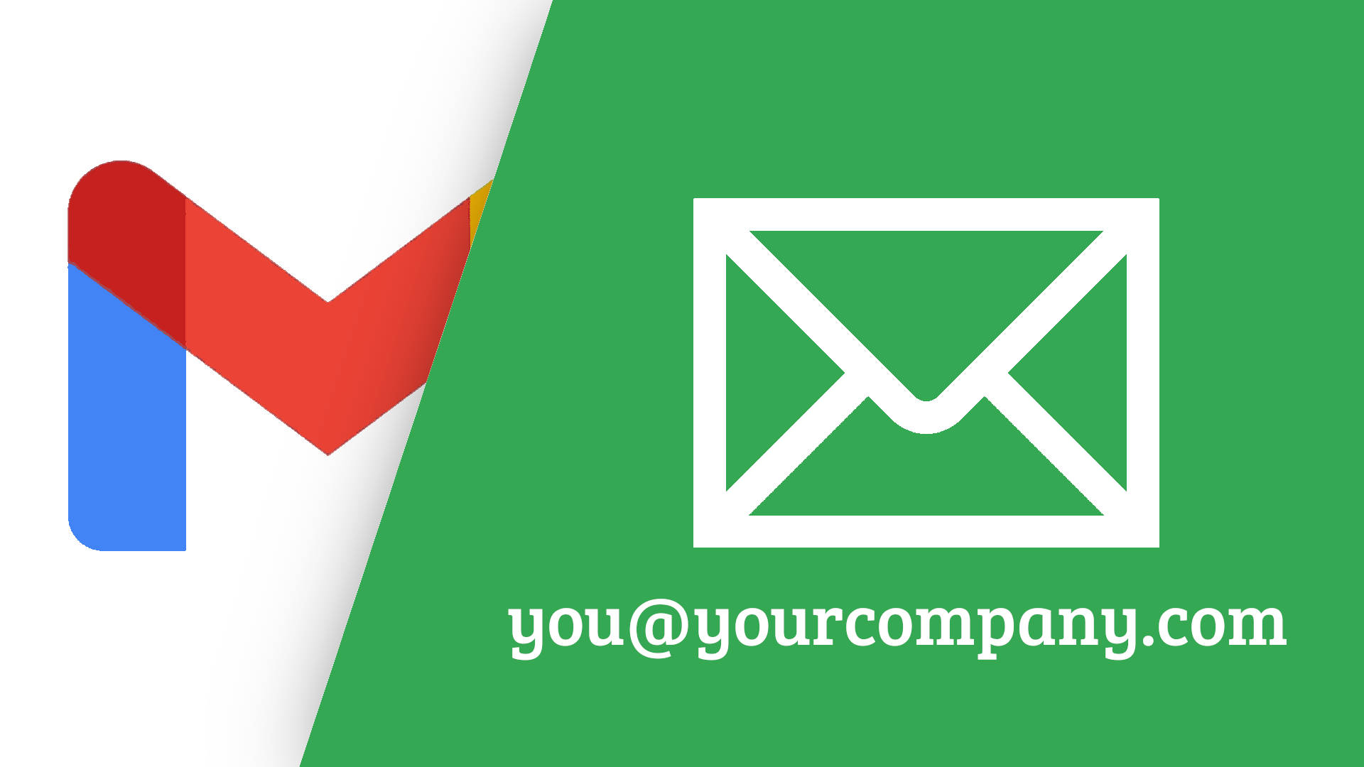 How to send and receive custom domain emails through gmail.