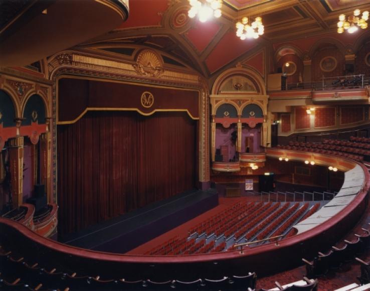 Auditorium Of The Festival Theatre Edinburgh Theatres Trust