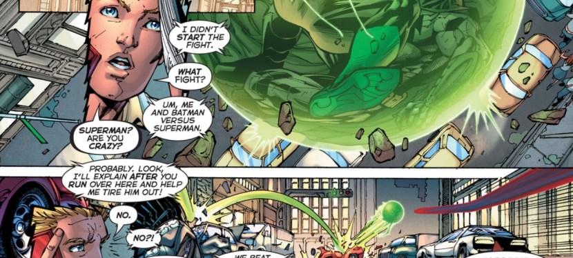 Feat: Superman, 'Justice League #2'