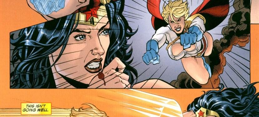 Feat: Power Girl, 'Wonder Woman' #41