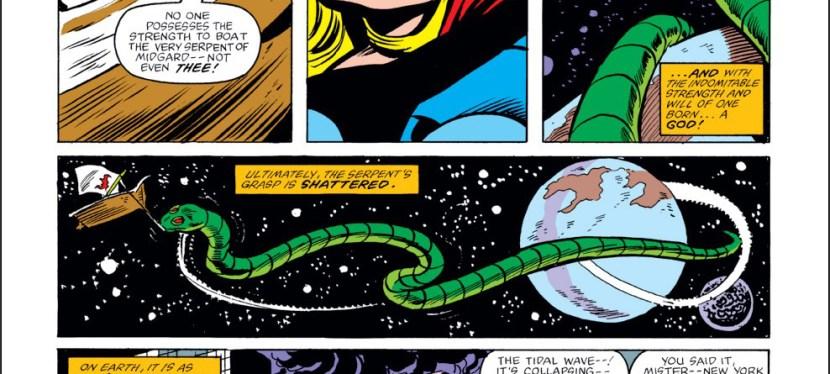 Power Level Explained: Thor Lifts Jormungand