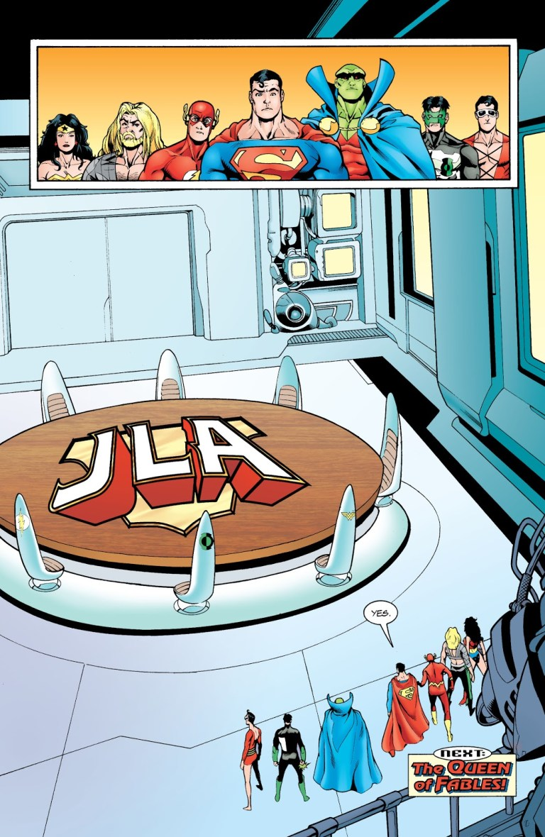 In 'JLA' #46, Superman cast the deciding vote, removing Batman out of membership from the JLA.