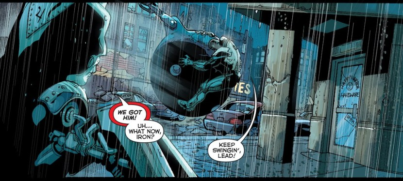 DC Day Series: During 'Forever Evil', The Metal Men Give Their All And Take On Grid