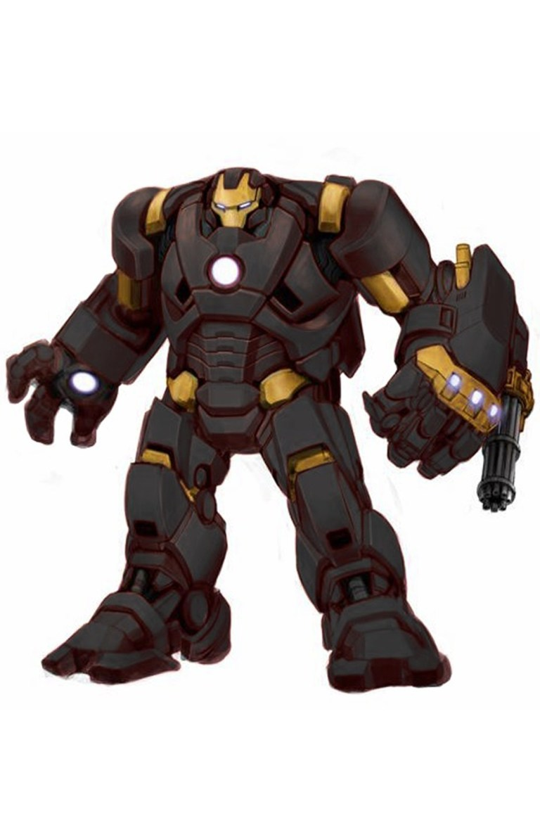 Iron Man Armor Model 34.