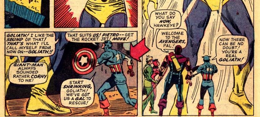 Feat: Goliath, 'Avengers' #28