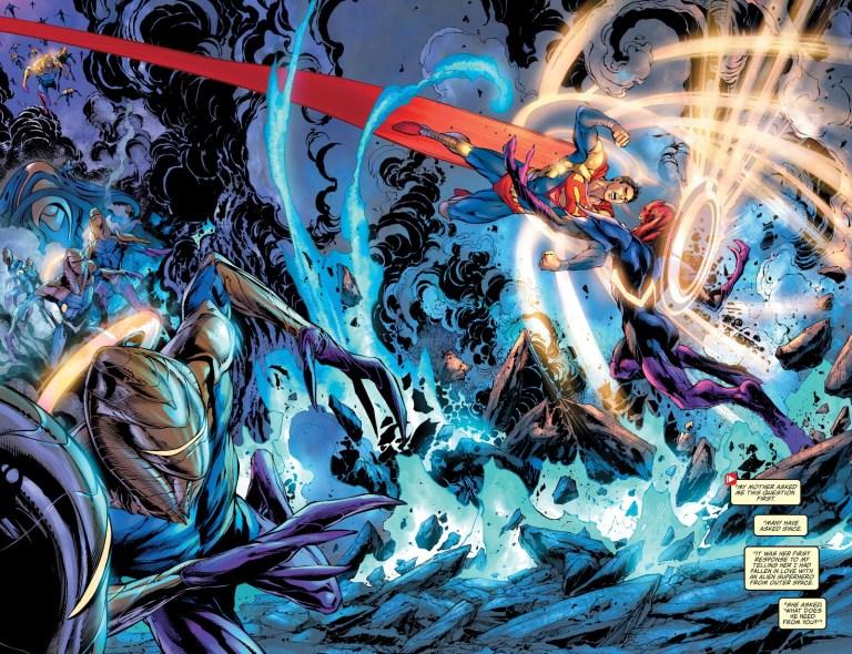 In 'Superman' (2021) #28, Superman battles Synmar.