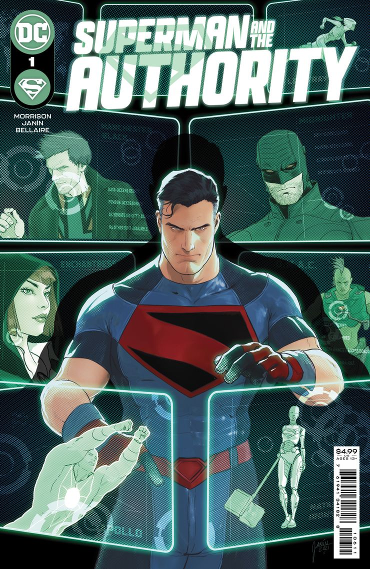 'Superman And The Authority' (2001) #1, teams-up Superman with the Authority.