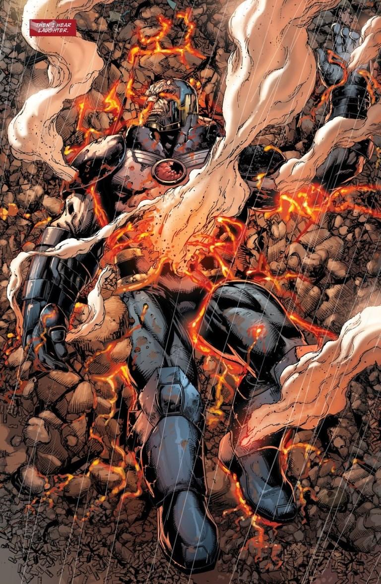 In 'Darkseid War', Anti-Monitor and the God of Death kill Darkseid.