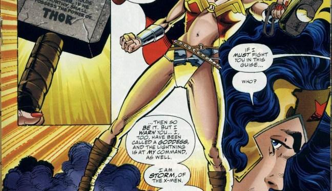 Battles Of The Week Preview: Storm vs Wonder Woman