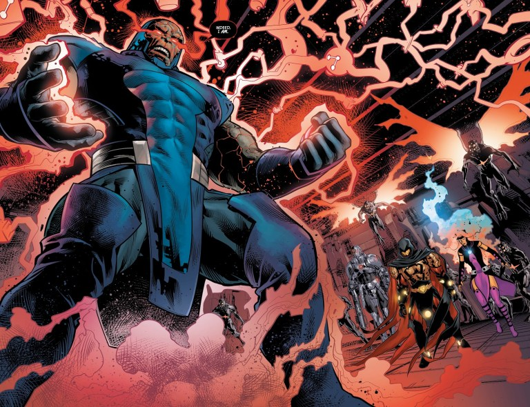 In 'Justice League' (2019) #12, Darkseid is restored to full power.