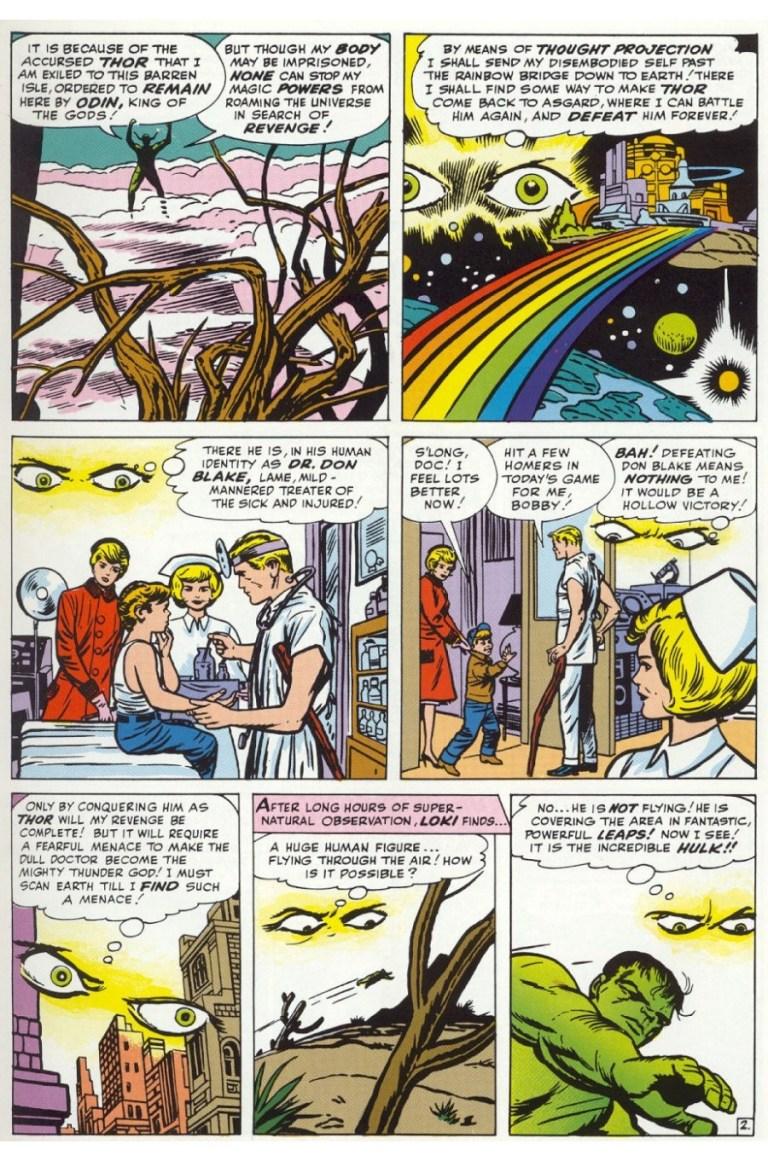 In 'Avengers' (1963) #1, Loki schemes to get revenge on Thor.