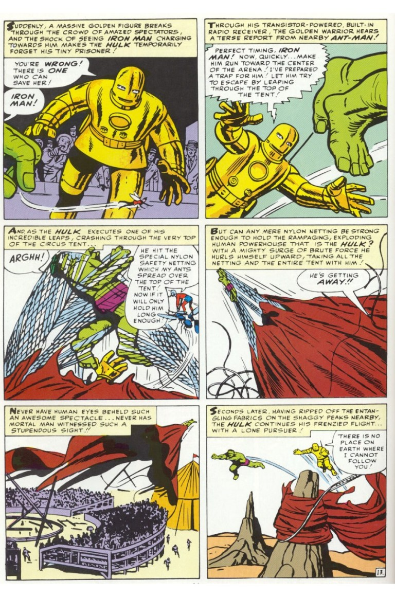 In 'Avengers' (1963) #1, the up-and-coming Avengers assemble to bring down the Hulk.