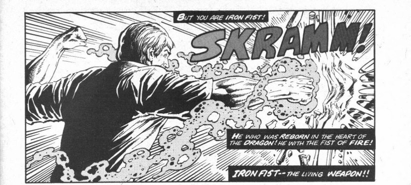 Feat: Iron Fist, 'Deadly Hands Of Kung Fu' #18