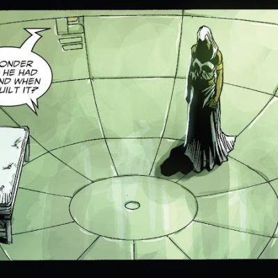 In 'Doomwar' (2010) #1, Ororo is imprisoned in a cell built by T'Challa that nullifies the X-gene.