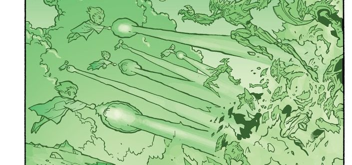 """DC Day: In """"JLA: Trial By Fire,"""" The Guardians Of The Universe Feared The Martian Race"""