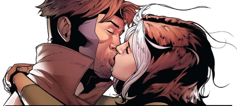"""Marvel Day: In """"Ring Of Fire,"""" Rogue and Gambit Re-unite As An X-Men couple."""