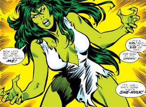 'Savage She-Hulk' (1980) #1, is the first solo debut of the Sensational She-Hulk.