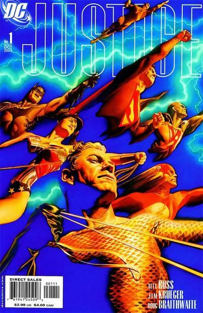 'Justice' (2005) #1 Cover.