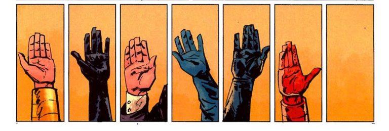 In 'New Avengers: Illuminati' (2006) #1, the Illuminati forms while Black Panther leaves.