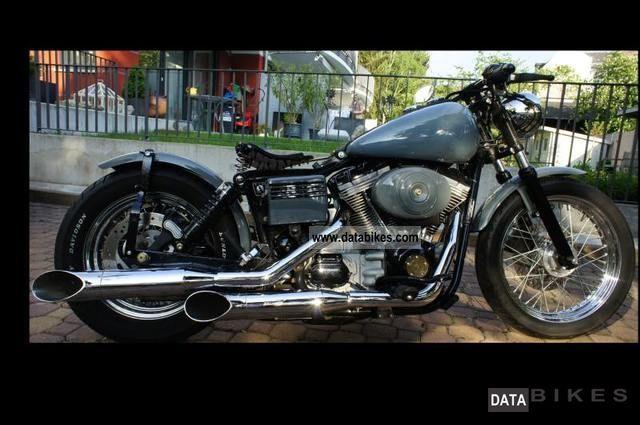 Glide Dyna Fxd Wide Harley 2001