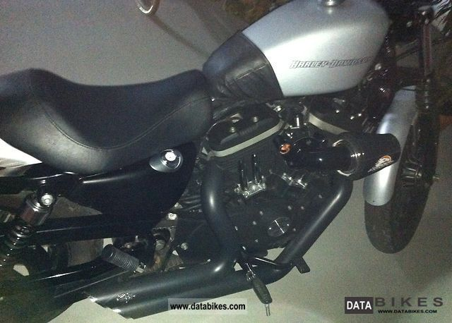 2009 Harley Davidson 883 Iron Silver Denim