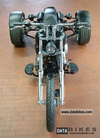 2009 Harley Davidson Q Tec Harley Softail Trike
