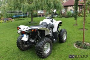 Bombardier Traxter Xt 500 With Plow And Winch 2004 Can Am