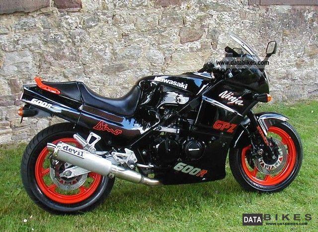 Sportbike Kawasaki 1989