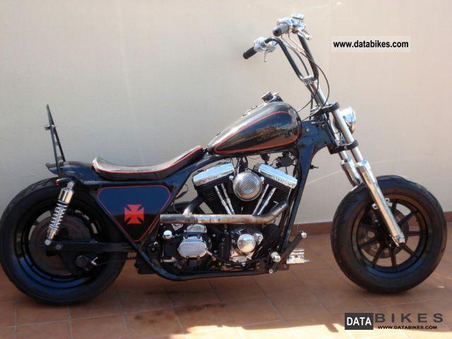 Chopped Harley Flt Frame
