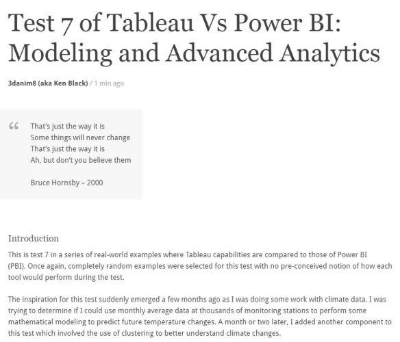 Tableau Vs Power BI | Data Blends