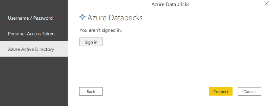 New Databricks connector for Microsoft PowerBI lets you quickly access data and speed queries with just a few clicks.