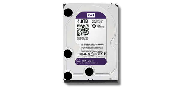 WD Purple - 4 TB