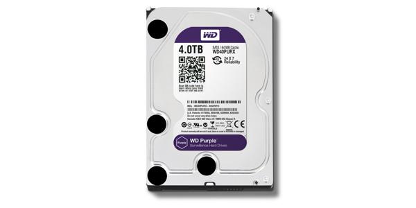 WD Purple - 4 TB