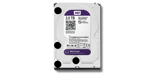 WD Purple - 2 TB