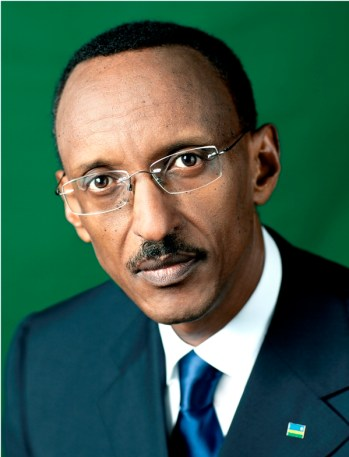 Fig 2 Official portrait, President Kagame 2014