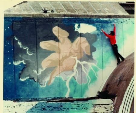 Wildstyle ammpitheatre graffiti