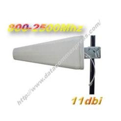 Wideband 11dbi 800Mhz-2500Mhz Yagi Antenna(DE0825Y11)