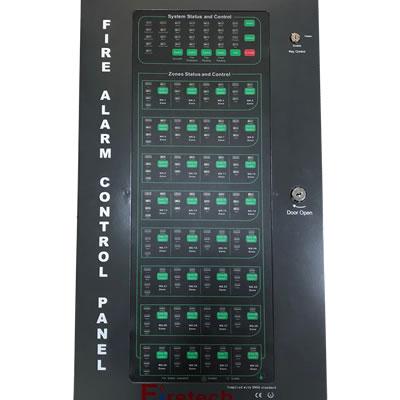 Firetech 16-Zones Conventional Fire Alarm control Panel(FT-CFP2002-16)