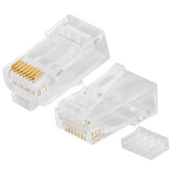 2-Piece RJ45 Cat6UTP Connector (pack of 50)