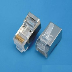 RJ45 Cat6 FTP Shielded outdoor  Connector (pack of 50)
