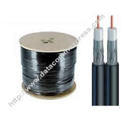 Spool of Dual RG6/U Coaxial Cable (1000′)