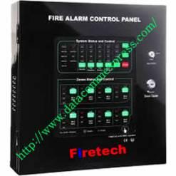 Firetech 8-Zones Conventional Fire Alarm control Panel(FT-CFP2002-8)