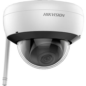 Hikvision DS-2CD2141G1-IDW1 4MP H.265+ WiFi IP Dome Camera Built-in Mic, SD Card Slot, Hik-Connect