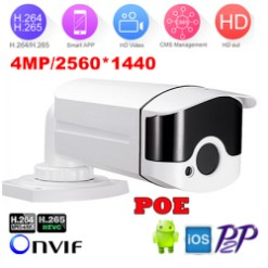 4MP H.265 Infrared Bullet IP Camera (MIP-400BE40)