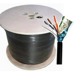 Outdoor Shielded Cat5e FTP Cable(1000′)