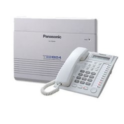 Panansonic TES824 -6 Lines 16 Extension Advanced Hybrid Telephone System with Console