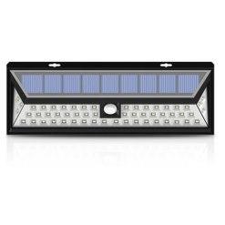 54 LED Solar Powered Outdoor Motion Sensor Light With LED on Both Side(SWL01)