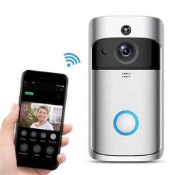 Smart Wifi video door bell with 2-way audio Intercom