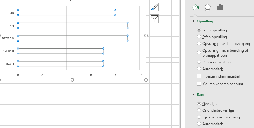 Stap 1 in Excel