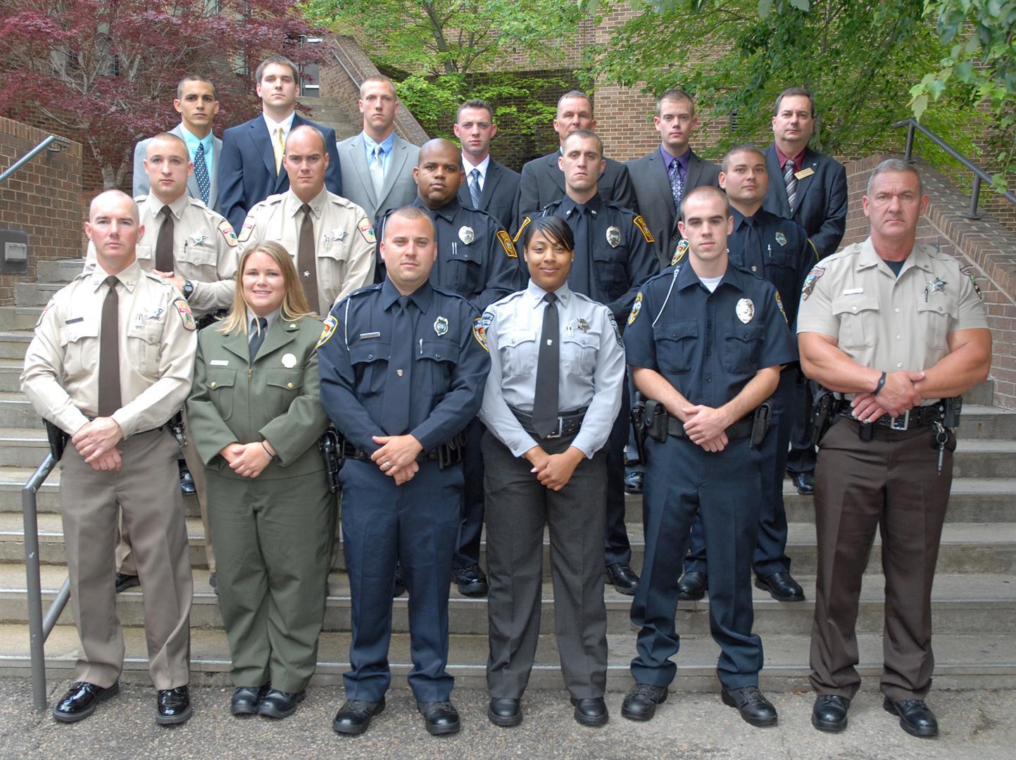 Vgcc Graduates 17 Law Enforcement Cadets In Schools 94th Blet Class
